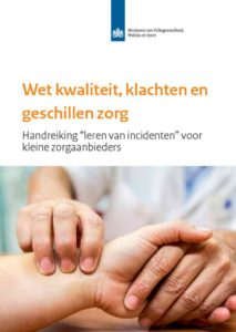 thumbnail of Wkkgz Handreiking leren van incidenten voor kleine zorgaanbieders